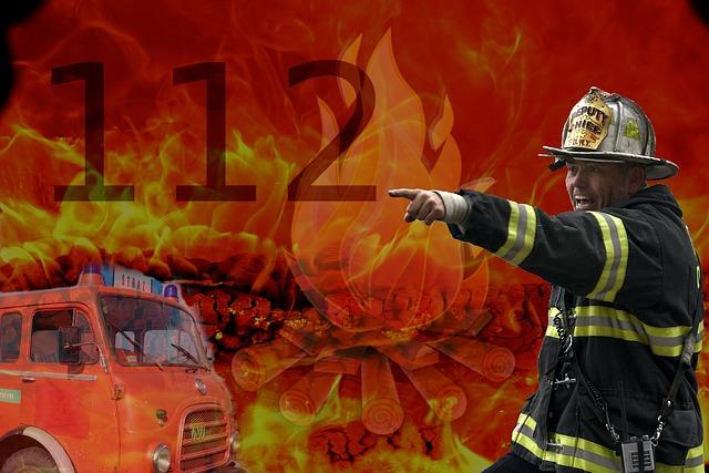 hasiči 112
