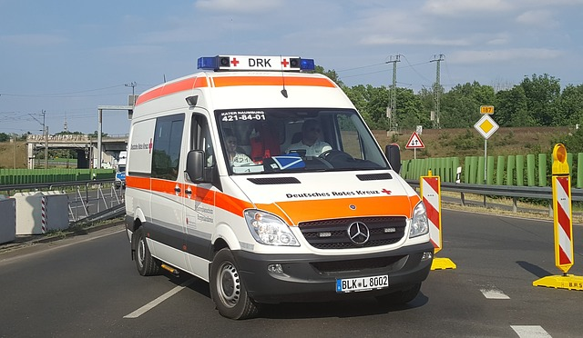 ambulancie vozidlo